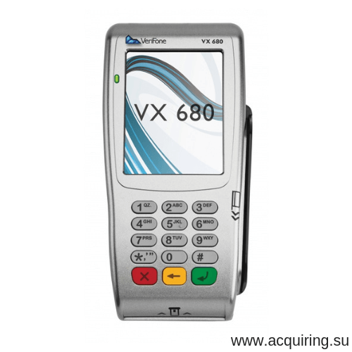 Мобильный POS-терминал Verifone VX680 (Wi-Fi, Bluetooth) под Прими Карту в Новосибирске